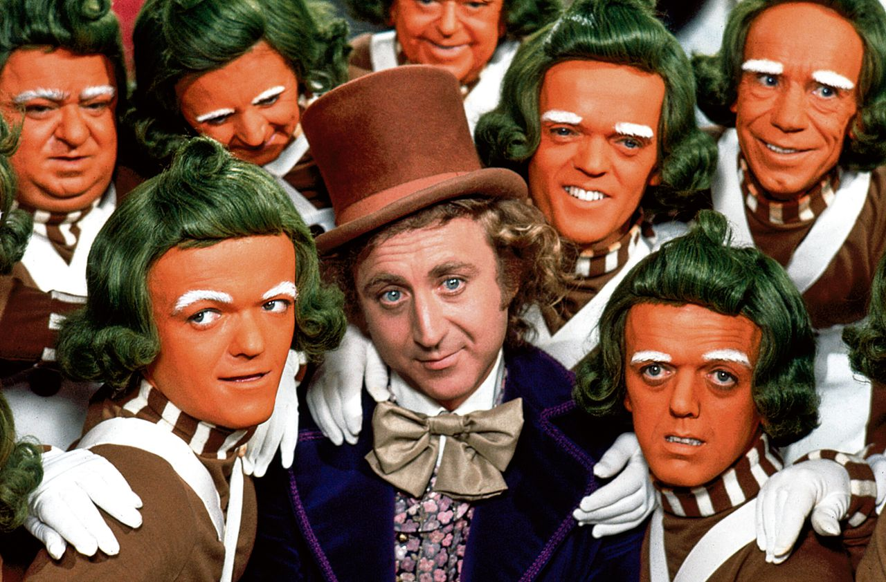 Gene Wilder als Willy Wonka in 1971 in Willy Wonka and the Chocolate Factory