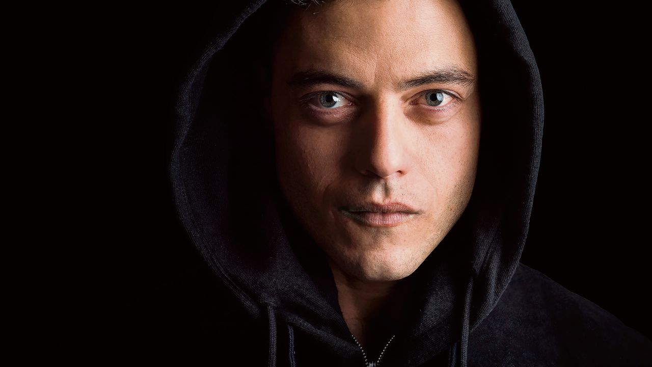 Elliot Alderson, hacker in de nieuwe serie Mr. Robot