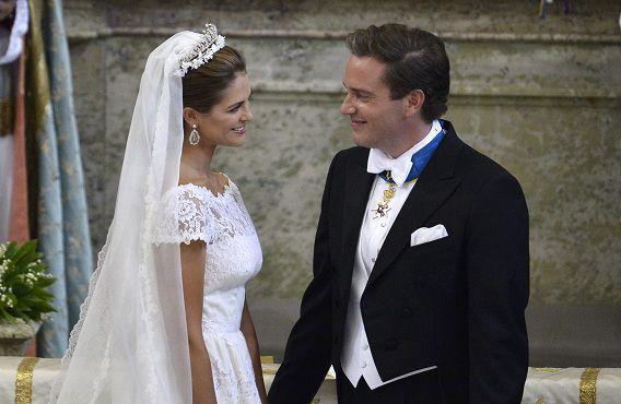 Zweedse Prinses Madeleine Getrouwd Nrc