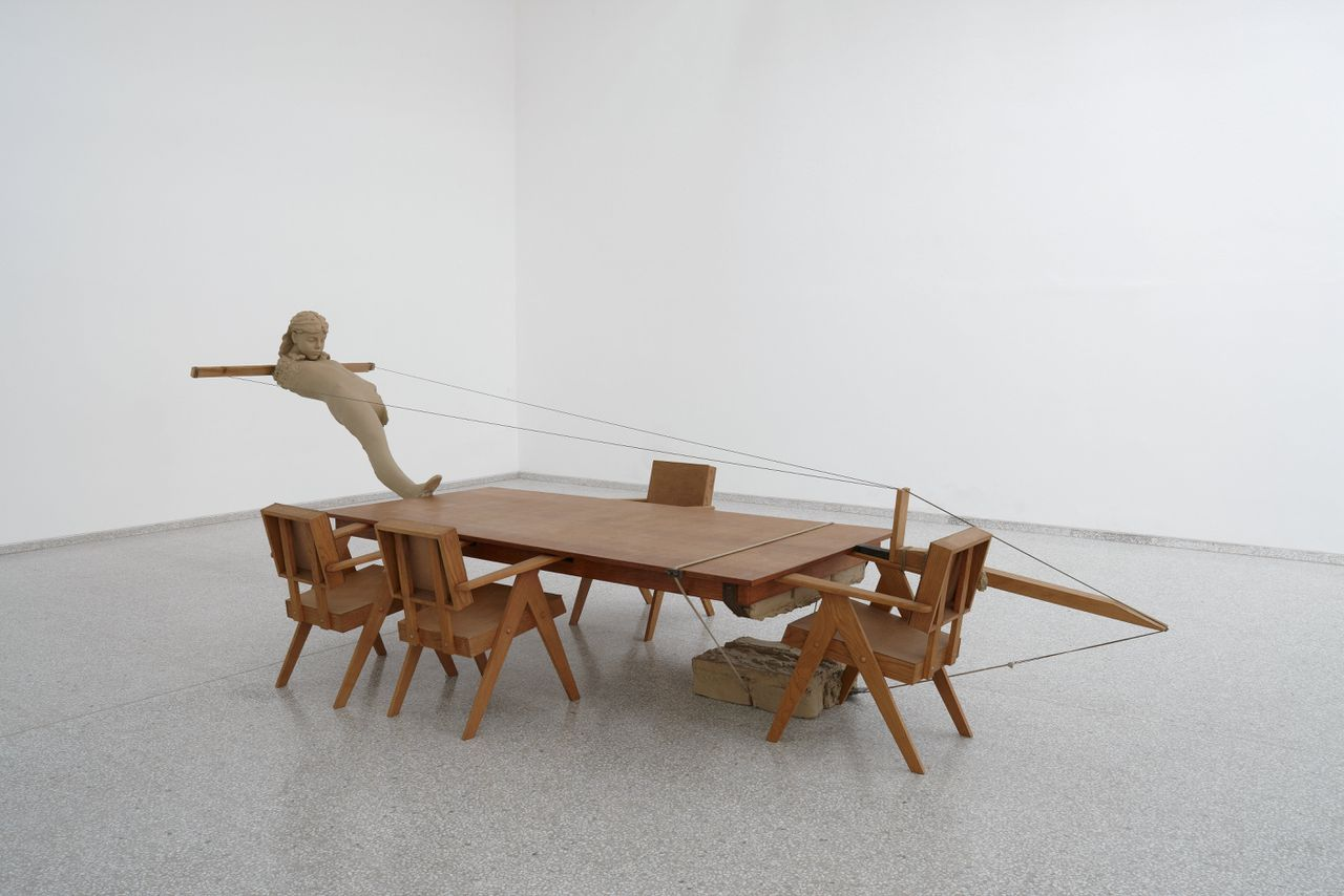 Mark Manders, Mind Study, 2010-2011. Collectie Bonnefantenmuseum, courtesy Zeno X Gallery.