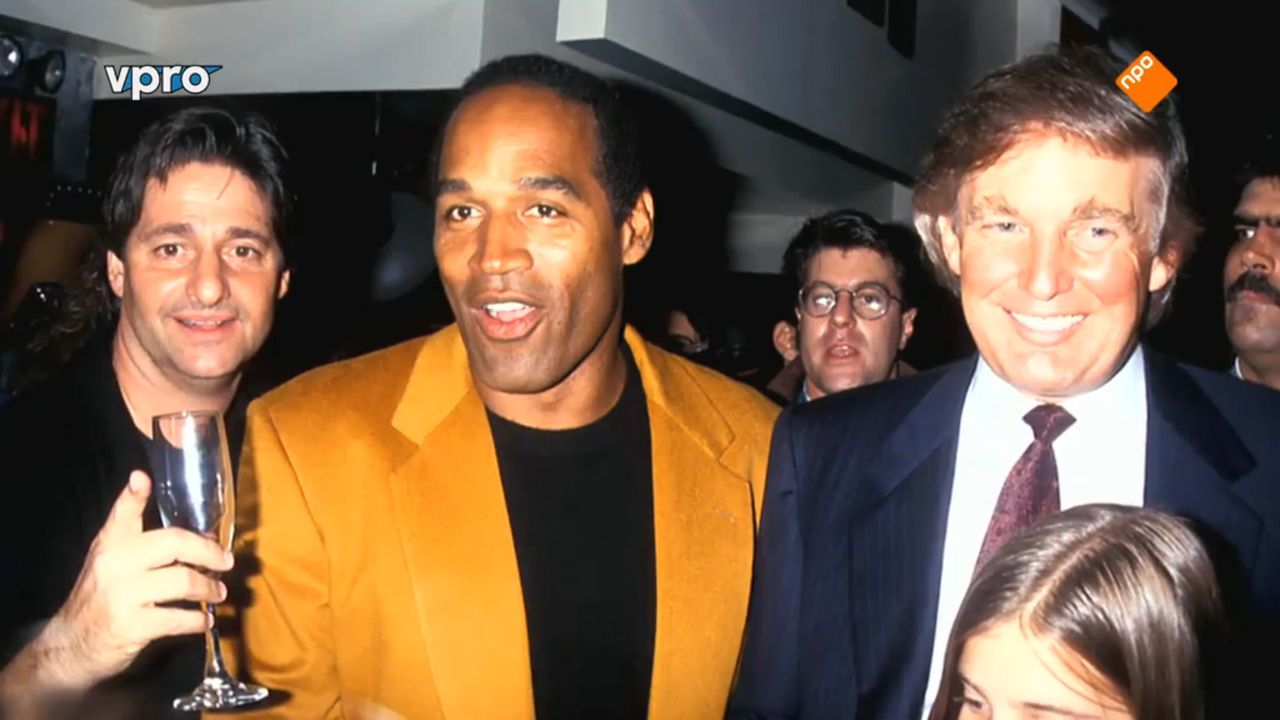 O.J. Simpson en Donald Trump in 'O.J.: Made in America' (2DOC/VPRO).