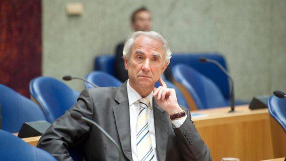 Den Haag : 27 oktober 2011 Minister Leers tijdens het Mauro-debat. foto © Roel Rozenburg