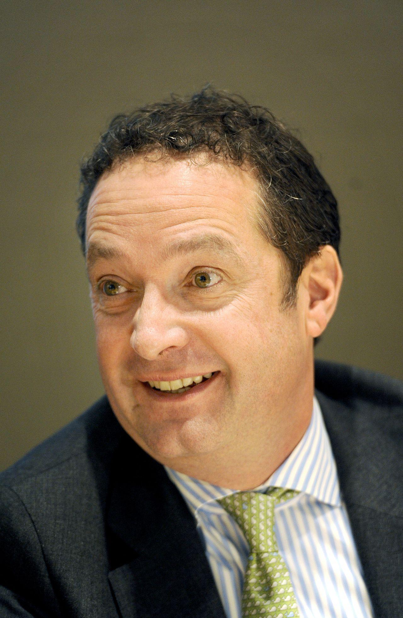 """Chris Vogelzang gaat """"nieuwe uitdagingen"""" zoeken en vertrekt bij ABN Amro."""