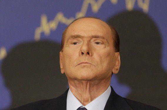 Oud-premier Silvio Berlusconi op een archieffoto.