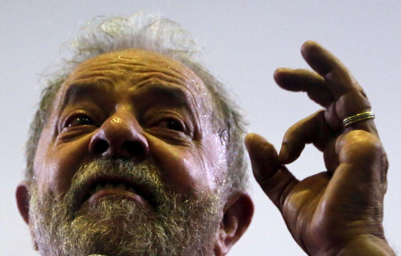 Oud-president Lula op archiefbeeld.