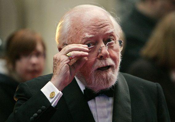 Attenborough in 2008 bij de Galaxy British Book Awards in Londen.