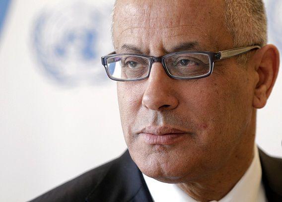 De Libische premier Ali Zeidan.