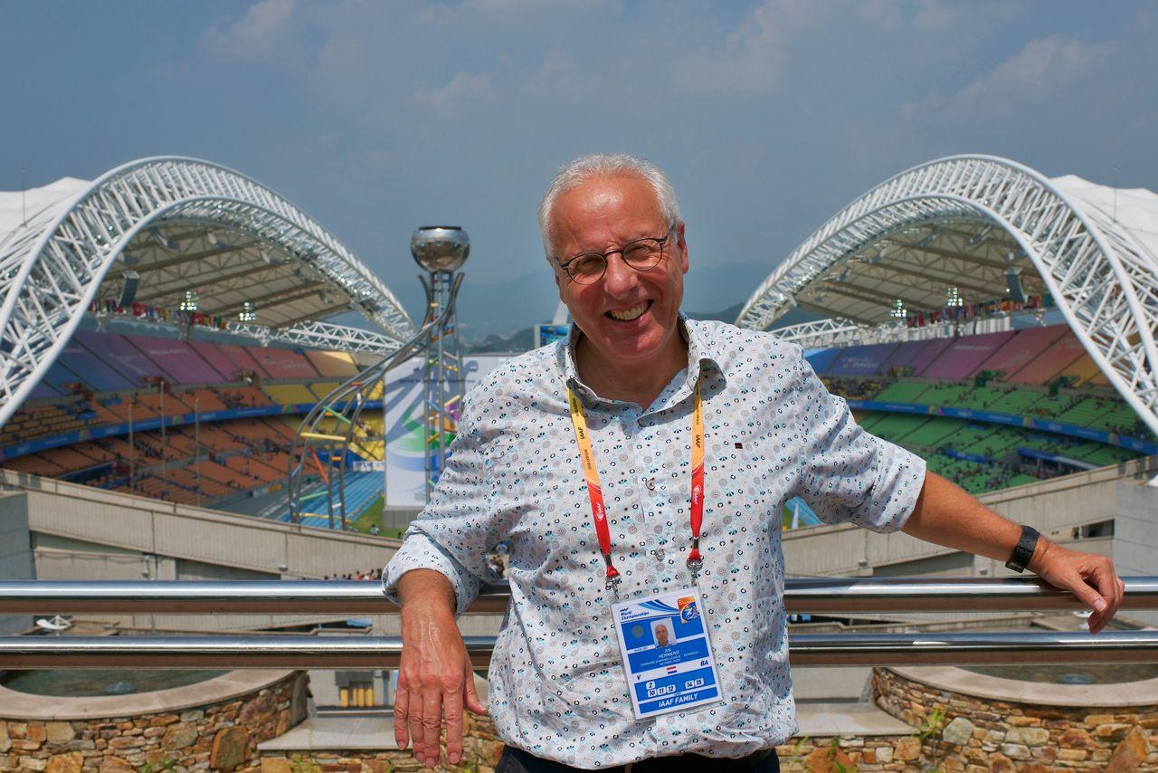 01-09-2011: Atletiek: WK atletiek: Daegu (Zuid-Korea) Athletics Manager Jos Hermes IAAF World Championships 2011