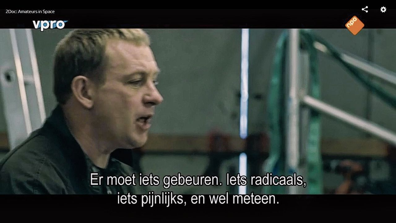 Peter Madsen in Amateurs in Space.