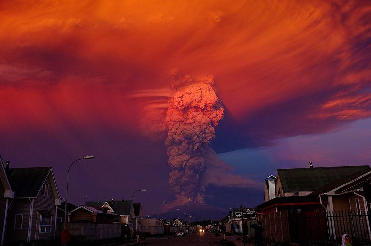 De vulkaan Calbuco.