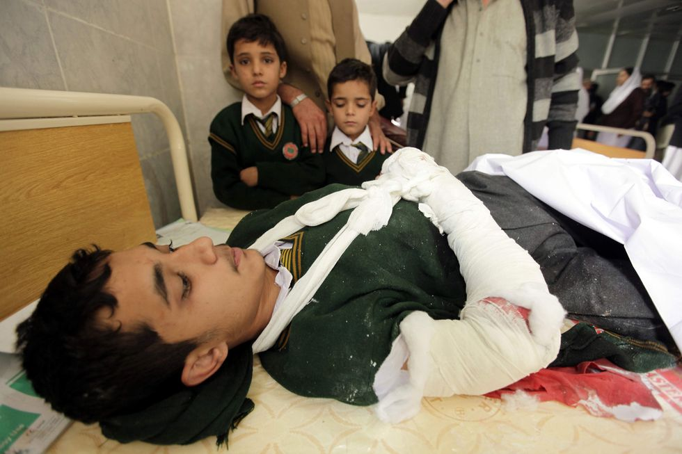 At least 23 killed at Pakistan school under Taliban attack