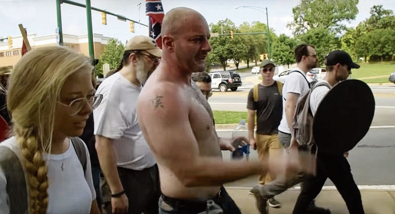Reportage over de Unite the Right-rally in Charlottesville.