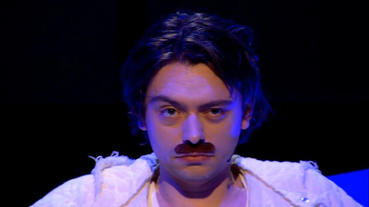 Stefano Keizers in 'De Slimste Mens' (KRO-NCRV).