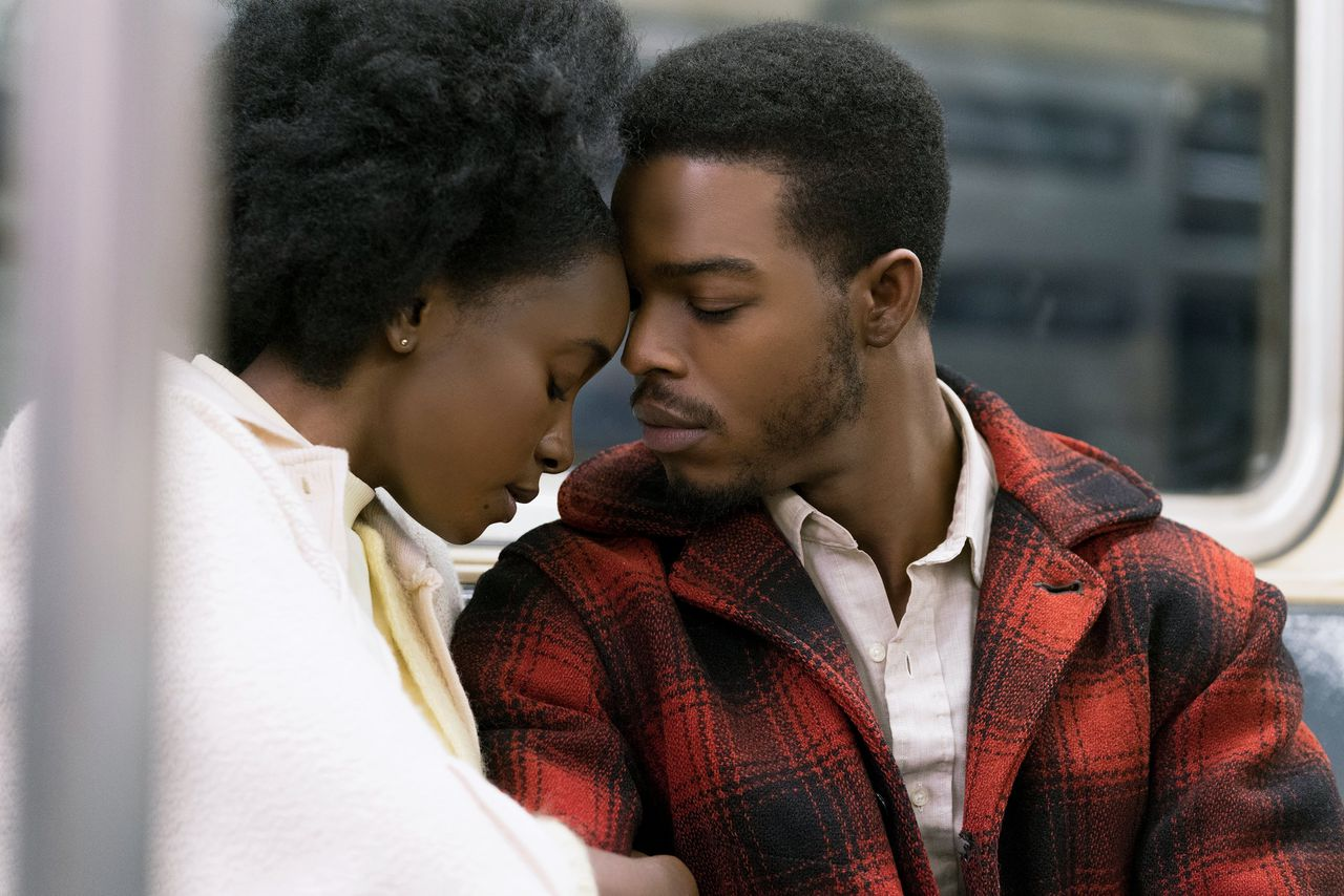 Tish (KiKi Layne) en Fonny (Stephan James) in 'If Beale Street Could Talk'.