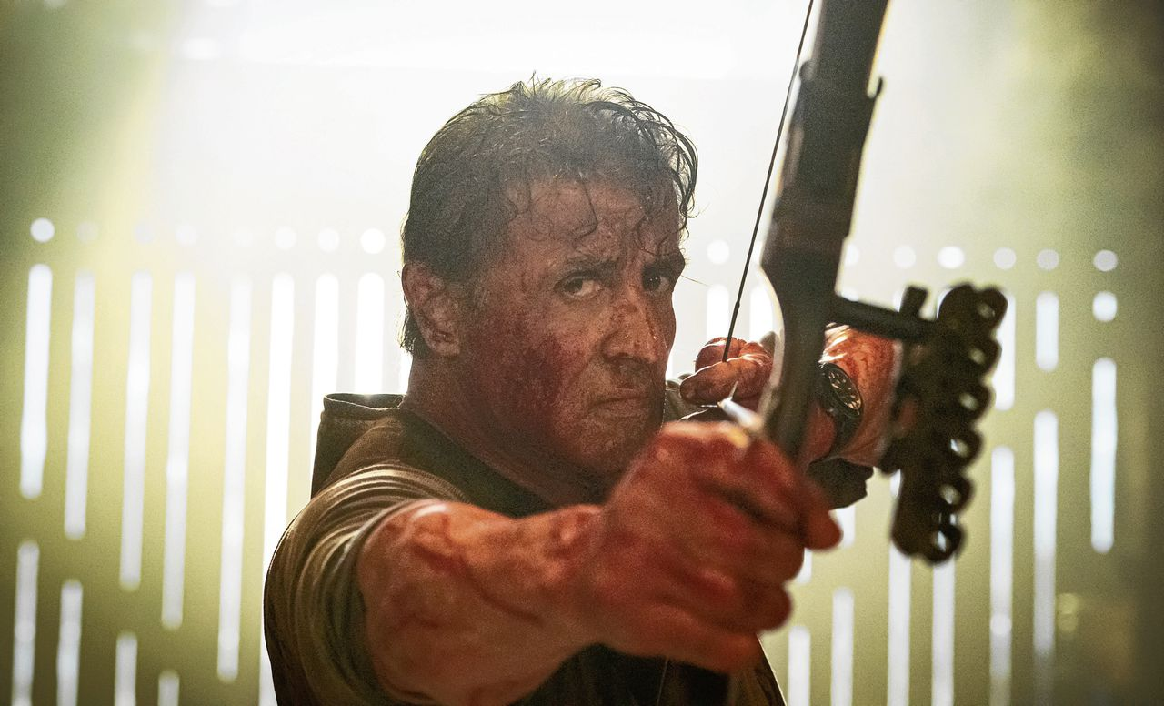 Sylvester Stallone in 2019 als John Rambo in 'Rambo: Last Blood'.