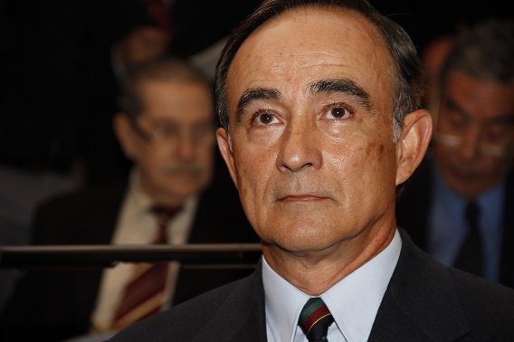 Oud-Transaviapiloot Julio Poch twee jaar geleden in de rechtbank.