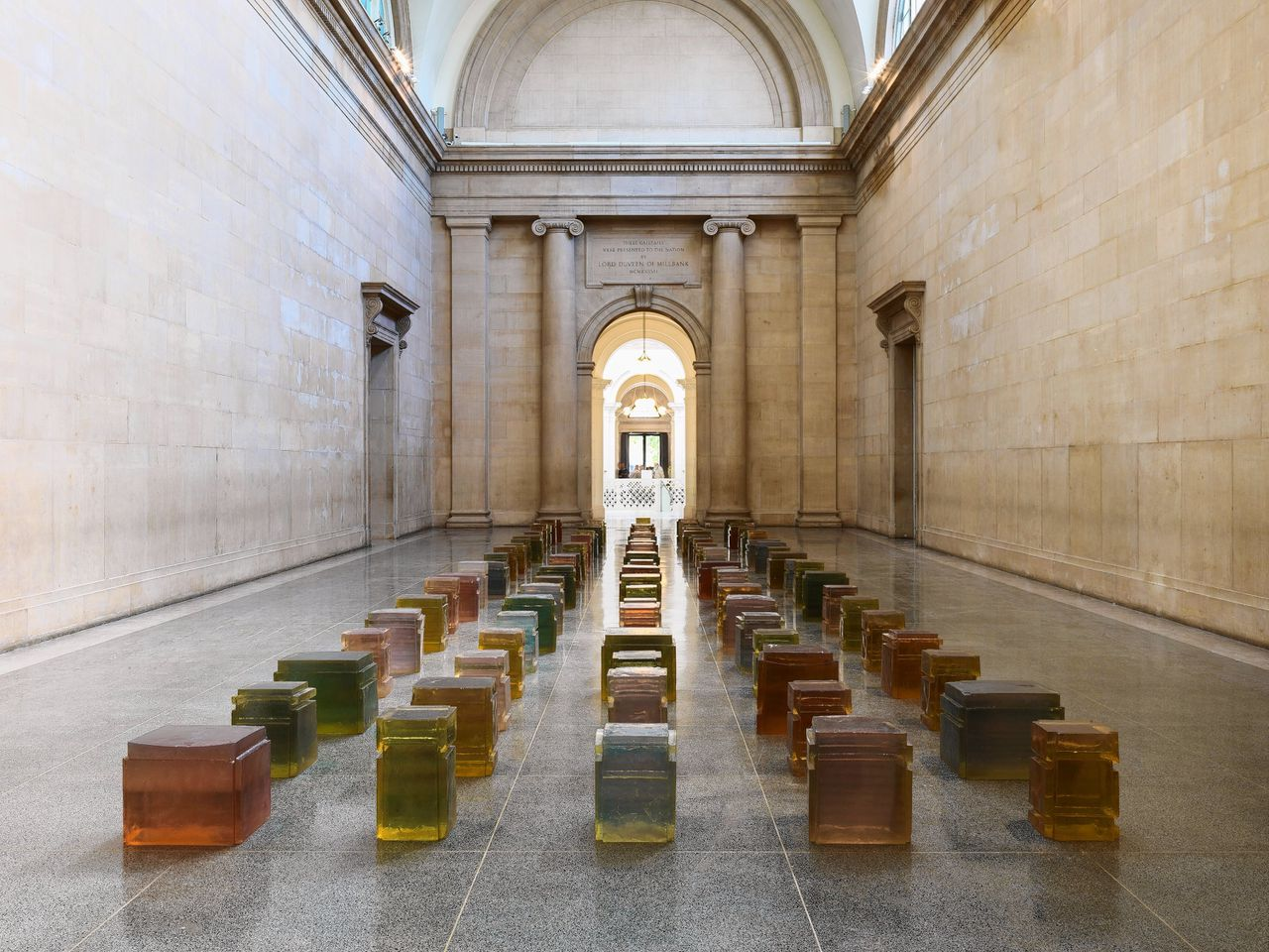 Rachel Whiteread, '100 Spaces', nu te zien in Tate Britain.