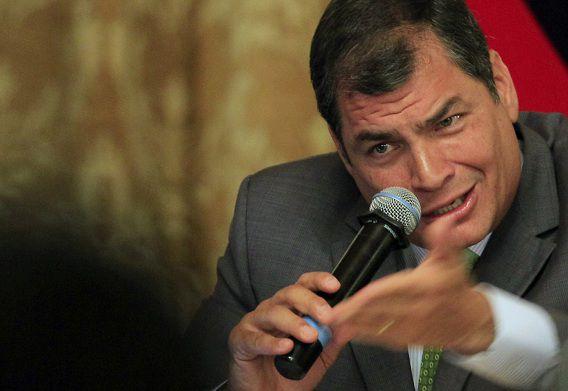 De Ecuadoraanse president Rafel Correa stelt zich opnieuw verkiesbaar. Waarschijnlijk zal hij nog eens vier jaar over het land kunnen regeren.