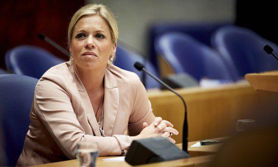 Minister van Defensie Jeanine Hennis-Plasschaert.