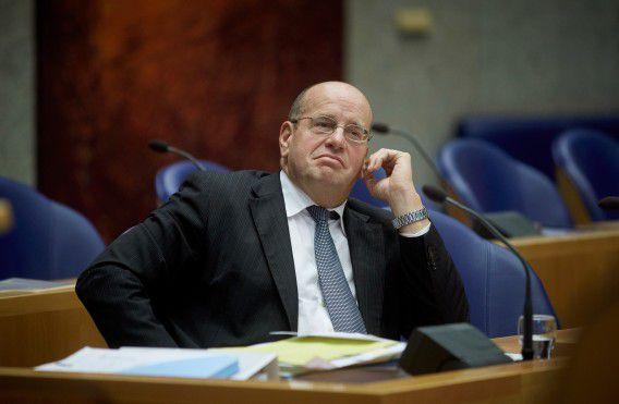 Staatssecretaris Teeven in de Tweede Kamer.