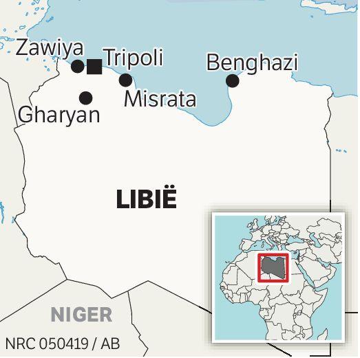 Troepen van de Libische generaal Haftar in de zuidelijke stad Sebha, eerder dit jaar