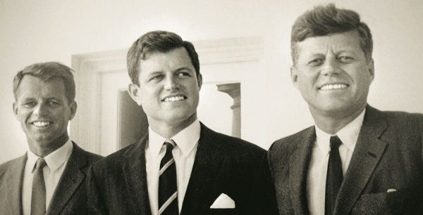 25 Oct 1993 --- Archives: the Kennedy brothers, left to right, Robert, Ted and John. --- Image by © Brooks Kraft/Sygma/Corbis