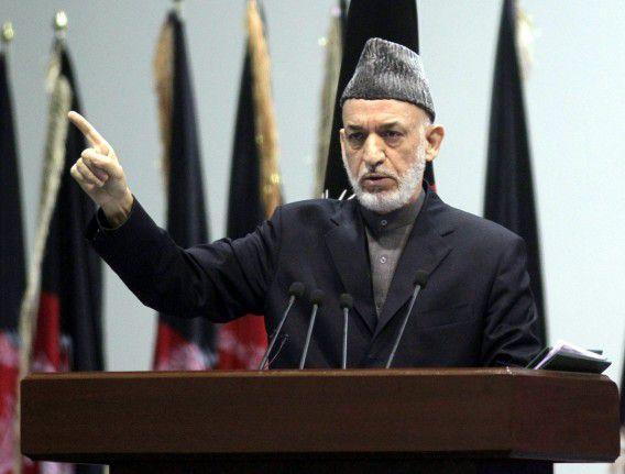 De Afghaanse president Hamid Karzai weigert een pact met de VS te ondertekenen.