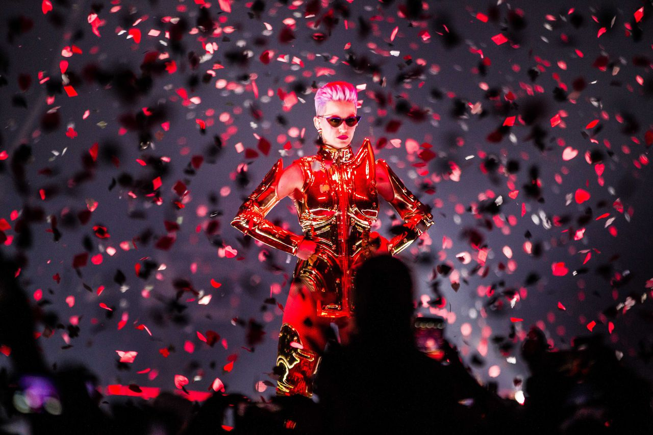 Katy Perry met 'Witness'-tour zaterdagavond in de Ziggo Dome.