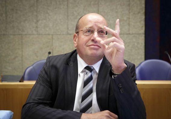 Staatssecretaris Fred Teeven tijdens het Tweede Kamerdebat over de strafbaarstelling van illegaliteit