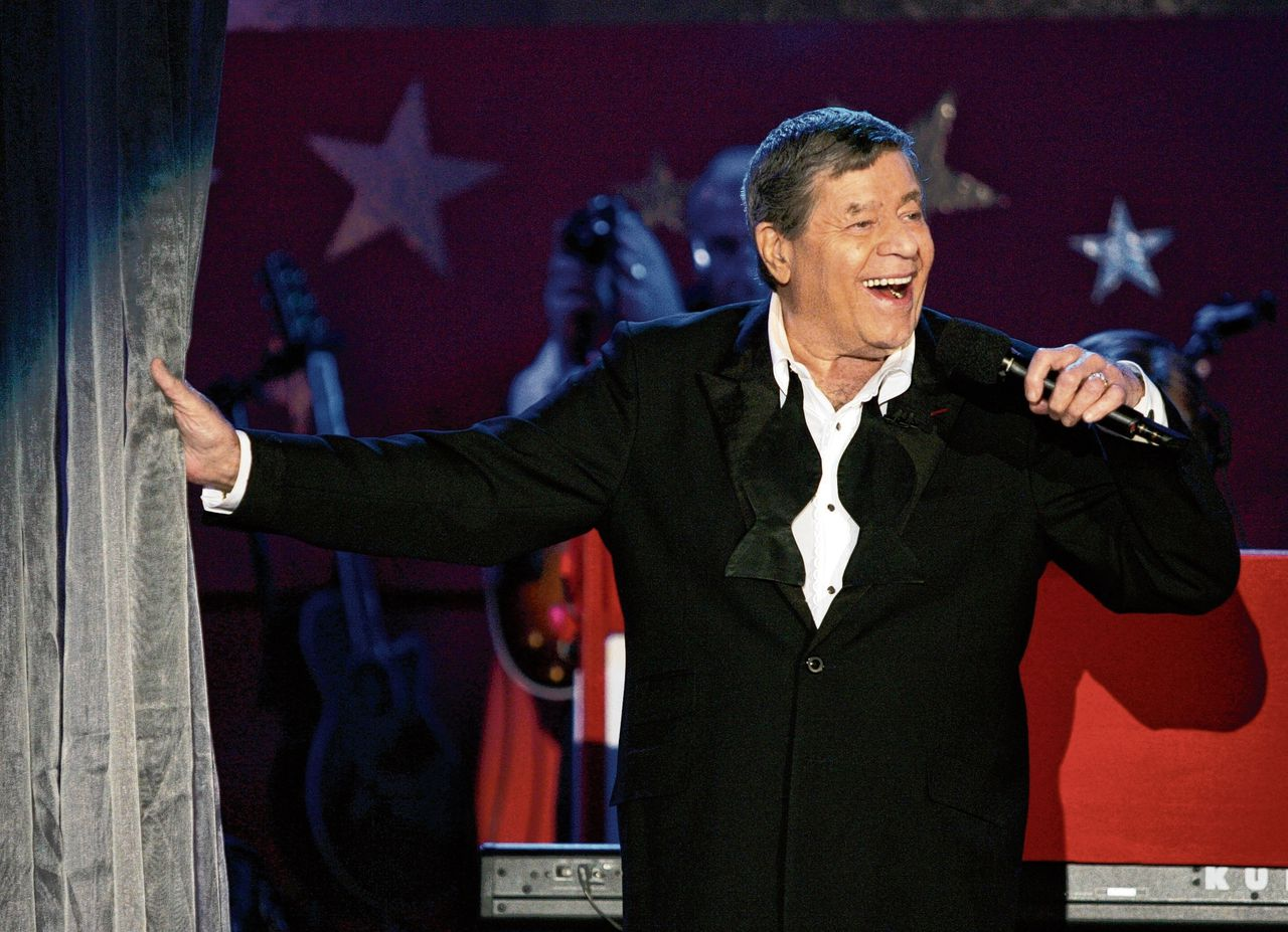 Jerry Lewis in 2005.
