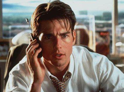Jerry Maguire (Cameron Crowe, 1996) RTL 8, 20.30-23.10u. Vehikel voor Tom Cruise is een grondige feelgood movie over de ondergang en wedergeboorte van een moreel ontwaakte sportmakelaar. Lijkt een promotiefilm voor een beter en eerlijk leven. Vijf Oscarnominaties waarvan die voor Cuba Gooding Jr. werd verzilverd.