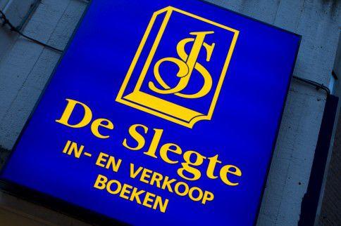 Logo van boekhandel De Slegte.